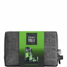 Set cadou Dove Men+Care Extra Fresh (Gel de dus, 250 ml + Deospray, 150 ml + Sapun solid, 90 g + Geanta de cosmetice )