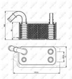 Termoflot radiator ulei (68x62x139) VOLVO S60 II, S80 II, V60 I, V70 II, V70 III, XC60, XC70 II; FORD FIESTA VI, FOCUS III, KUGA II, MONDEO IV; LAND R