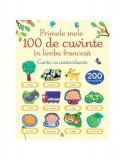 Primele 100 de cuvinte în limba franceză. Carte cu autocolante