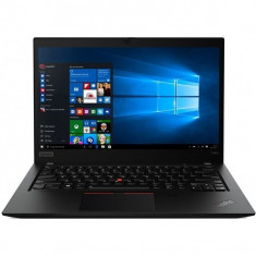 Laptop Lenovo ThinkPad T490s, 14 HDR WQHD, Intel Core i7-8565U, 16GB DDR4, 512 SSD, Intel UHD 620, Windows 10 Pro, Black