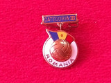 Insigna fotbal ROMANIA - categoria a-III-a