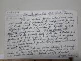 Autografe: Edgar Papu catre Victor Iancu.Scrisoare din 1957