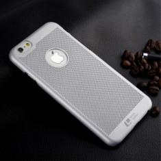 Carcasa protectie spate din plastic mesh pentru Iphone 6 Plus 5.5 - gri