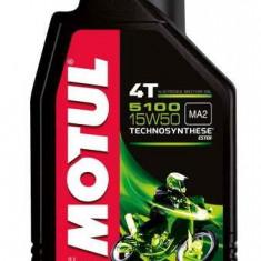 Ulei motor pentru motociclete Motul Ester 5100 15W50 4T 1L 510015W501L