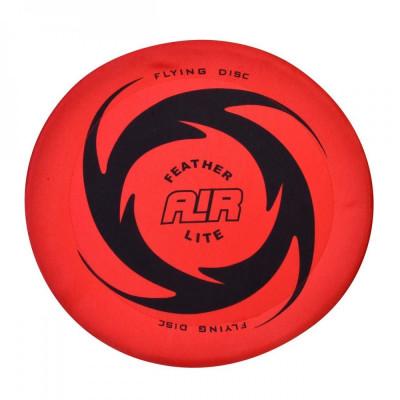 Disc zburator frisbee, 38cm, rosu/negru foto