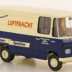 Macheta Mercedes L 406 D Kasten - Dachser Spedition - Brekina  scara 1:87