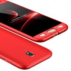 Husa 360 Full Body Fata Spate Samsung Galaxy J5 2017 J530 red