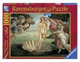 Puzzle Sandro Botticelli: Nasterea lui Venus, 1000 piese, Ravensburger