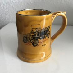Halba bere din ceramic