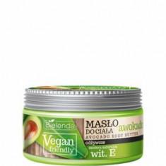 Unt de corp cu ulei de avocado Vegan Friendly, 250 ml