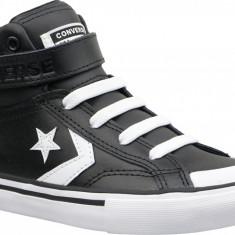 Adidași Converse Pro Blaze Strap Hi 663608C pentru Copii, 32 - 35, Negru