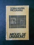 DOINA MARIA PACURARIU - MIGUEL DE UNAMUNO