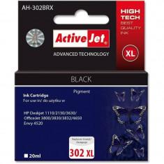 Consumabil ActiveJet Cartus compatibil HP 302XL Black pentru HP