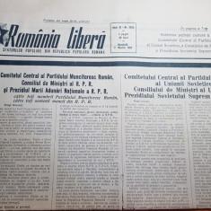 romania libera 7 martie 1953-moartea lui stalin
