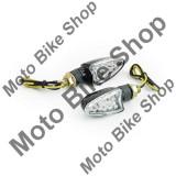 MBS Set lampi semnalizare cu leduri-carbon-oval, Cod Produs: MBS031104