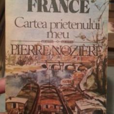 CARTEA PRIETENULUI MEU-ANATOLE FRANCE