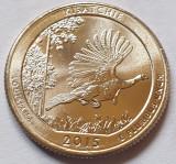 25 cents / quarter 2015 SUA, Louisiana, Kisatchie, litera D, America de Nord
