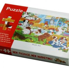 Puzzle Catelusi 88 piese lemn