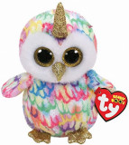 Jucarie de plus TY 15 cm Boos enchanted Bufnita unicorn