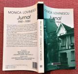 Jurnal 1981-1984. Editura Humanitas, 2003 - Monica Lovinescu