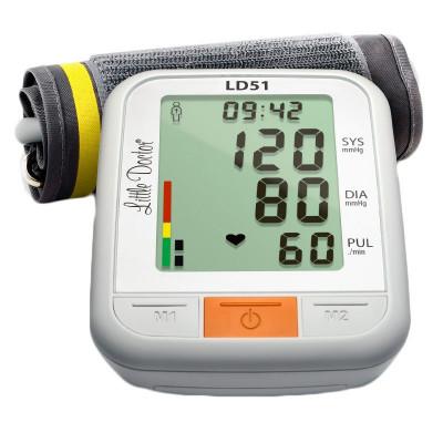 Tensiometru electronic de brat Little Doctor LD 51, afisaj XXL, detector aritmie, indicator WHO foto
