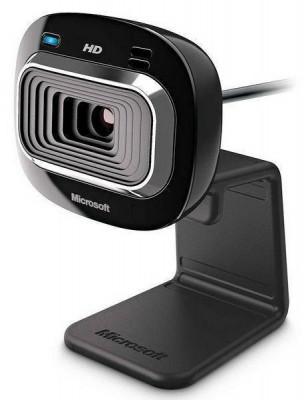 Camera web Microsoft T3H-00012 LifeCam HD-3000 Microfon 30FPS foto