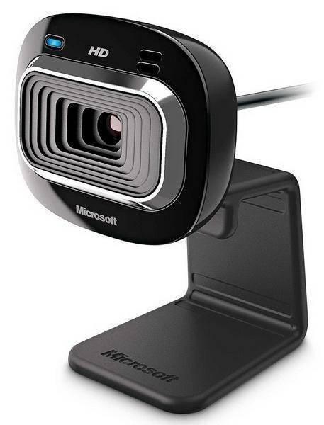 Camera web Microsoft T3H-00012 LifeCam HD-3000 Microfon 30FPS