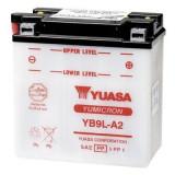 Yuasa baterie maxiscuter YB9L-A2 135x75x139 12V 9Ah 124A Kawasaki