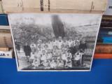 FOTOGRAFIE PE SUPORT DE CARTON , GRADINITA DE COPII , ANUL 1939