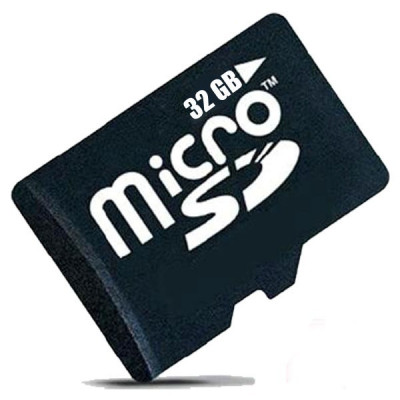 Card de memorie MicroSDHC 32GB, Class 10 + Adaptor SD Cadou foto