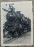 Locomotiva veche de tren, Romania// foto interbelica, Necirculata, Printata