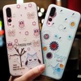 Husa de telefon cu bufnita, elefant sau iepure, pentru Huawei P9/p10/p20/p20lite/p10plus