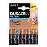 Set 8 baterii Duracell Ultra, tip AAA