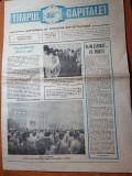 evenimentul anul 1,nr. 2 -  4-10 mai 1990-a fost sau nu judecat corect ceausescu