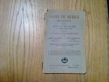CARTE DE MUZICA * Solfegii - Cl. II -a - M. Tanasescu, V. Soloveanu - 1929, 119p