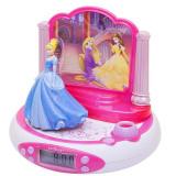 Ceas digital cu proiectie Disney Princess Roz