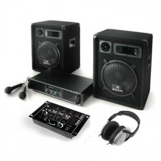 "Electronic-Star Sistem PA ""Bass Boomer"", set amplificator, boxe și microfon"