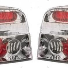 Set stopuri spate tuning, lampa VW Golf 4 Hatchback 08.1997-09.2003 BestAutoVest partea Dreapta/ Stanga, silver/transparent, fara suport becuri