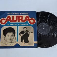 Aura si George Urziceanu- Dulce cintec romanesc -  disc vinil ( vinyl , LP ) nou