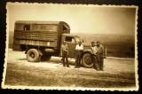 P.091 FOTOGRAFIE RAZBOI WWII CAMION 9/5,8cm