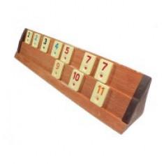 Joc Remi din lemn masiv – Rummy Kardesler