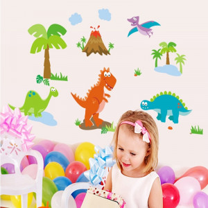 Sticker decorativ copii Lumea dinozaurilor
