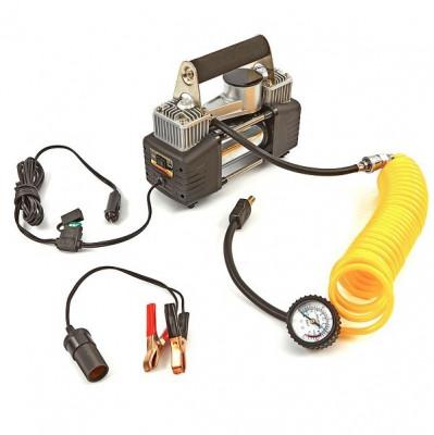 Compresor pentru umflat roti 12V foto