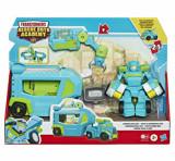 Transformers Rescue Bots Academy - Figurina Hoist Rescue Trailer