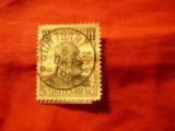 Timbru Wurttemberg 1916- 25 Ani rege Wilhelm II ,val.2 1/2pf.stampilat