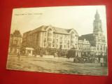 Ilustrata Oradea - Piata Sf.Stefan circulat 1917 Ed. Rigler Josef