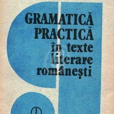 Gramatica practica in texte literare romanesti