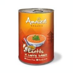 Linte in Sos de Curry Bio Amaizin 420gr Cod: 8718976016063