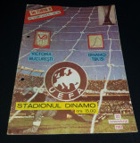 Program Victoria Bucuresti - Dinamo Tbilisi 1987