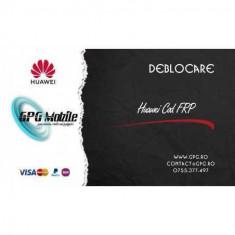 Deblocare Huawei FRP prin IMEI sau SN 1- 3 zile